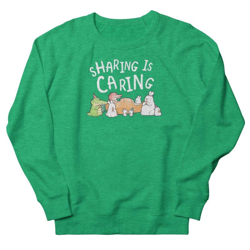 Buddy Gator - Sharing Is Caring Women's Sweatshirt by Buddy Gator's Artist Shop