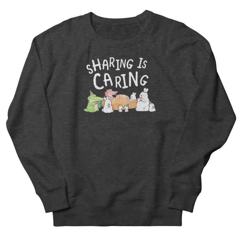 Buddy Gator - Sharing Is Caring Men's Sweatshirt by Buddy Gator's Artist Shop