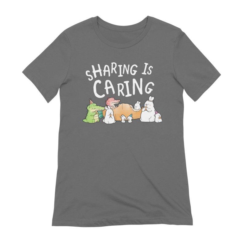 Buddy Gator - Sharing Is Caring Women's T-Shirt by Buddy Gator's Artist Shop