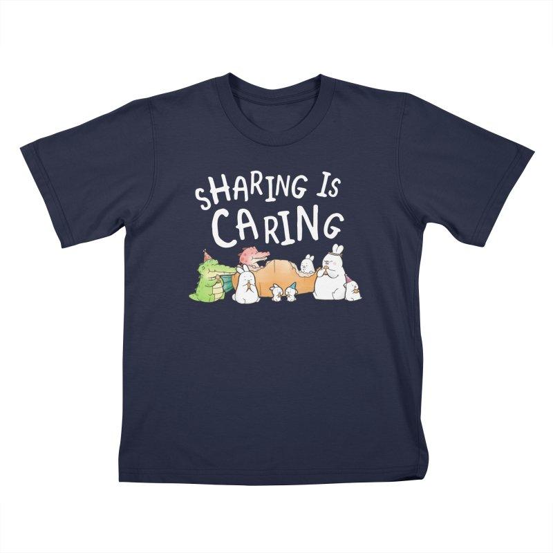Buddy Gator - Sharing Is Caring Kids T-Shirt by Buddy Gator's Artist Shop