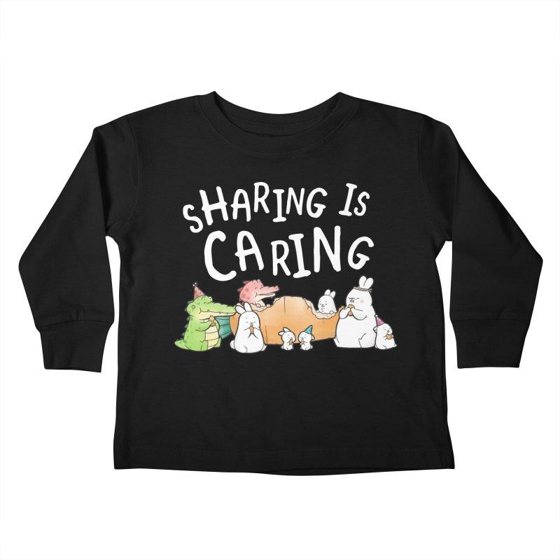 Buddy Gator - Sharing Is Caring Kids Toddler Longsleeve T-Shirt by Buddy Gator's Artist Shop