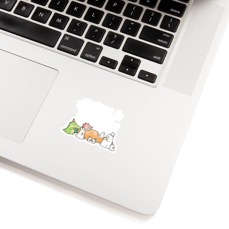 Buddy Gator - Sharing Is Caring Accessories Sticker by Buddy Gator's Artist Shop