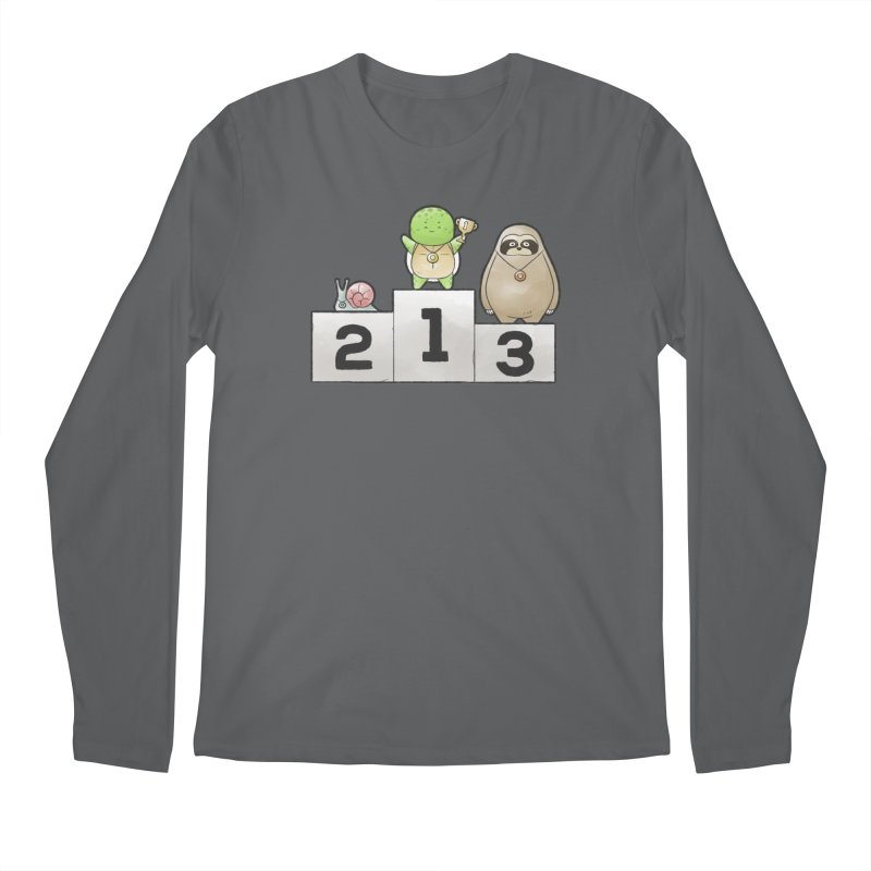 Buddy Gator - Champion Men's Longsleeve T-Shirt by Buddy Gator's Artist Shop