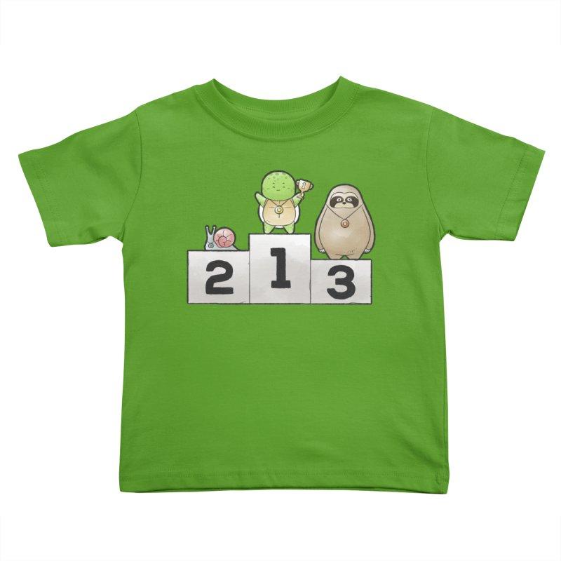 Buddy Gator - Champion Kids Toddler T-Shirt by Buddy Gator's Artist Shop