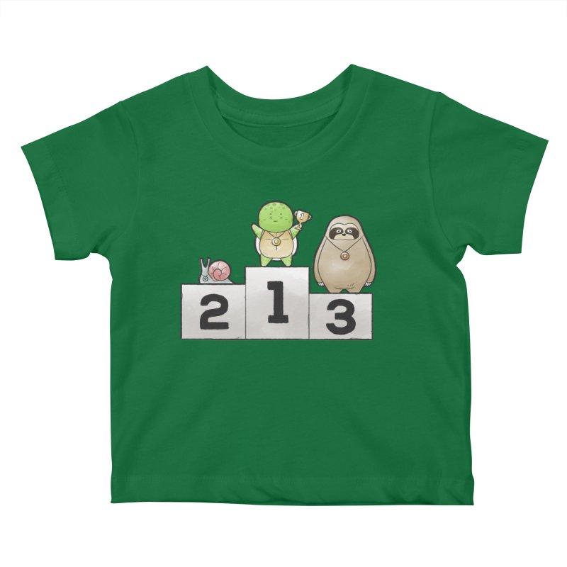 Buddy Gator - Champion Kids Baby T-Shirt by Buddy Gator's Artist Shop