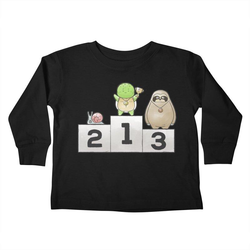 Buddy Gator - Champion Kids Toddler Longsleeve T-Shirt by Buddy Gator's Artist Shop