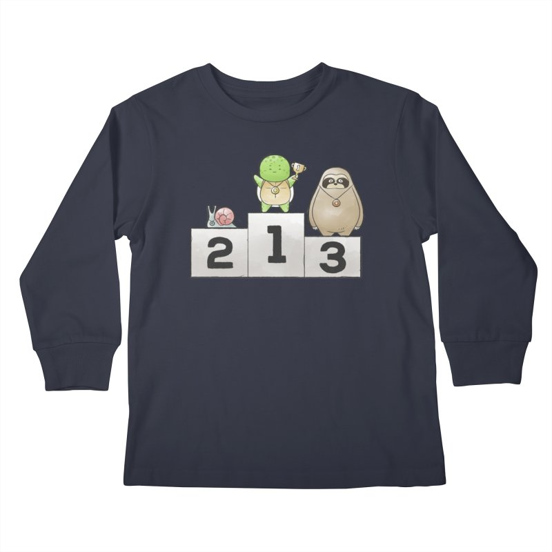 Buddy Gator - Champion Kids Longsleeve T-Shirt by Buddy Gator's Artist Shop