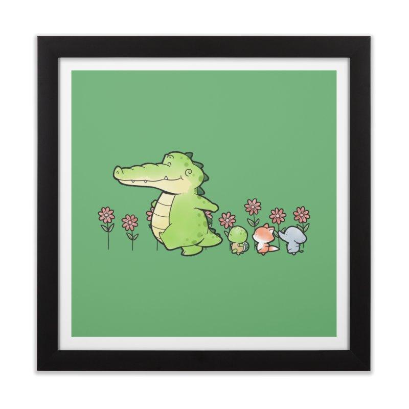 Buddy Gator - Follow Home Framed Fine Art Print by Buddy Gator's Artist Shop