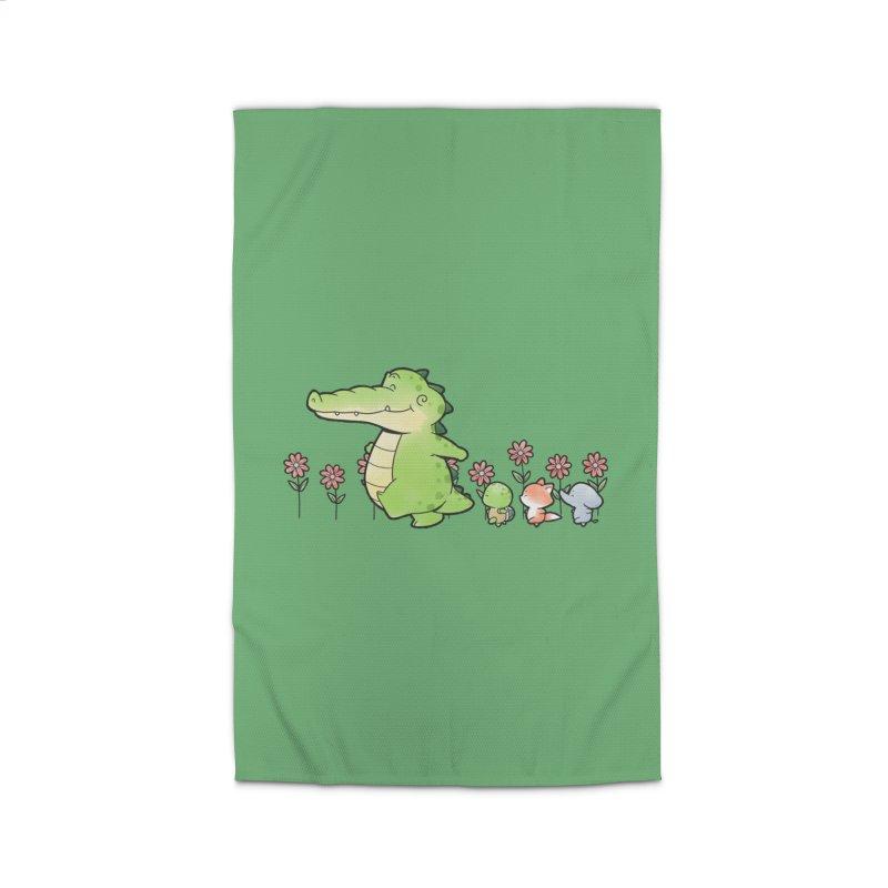 Buddy Gator - Follow Home Rug by Buddy Gator's Artist Shop