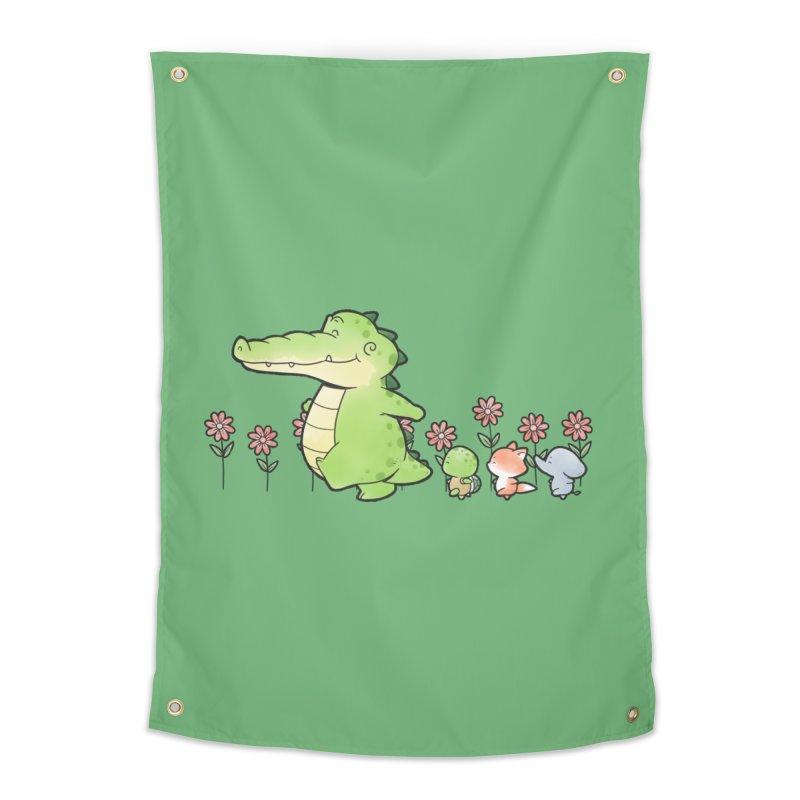 Buddy Gator - Follow Home Tapestry by Buddy Gator's Artist Shop