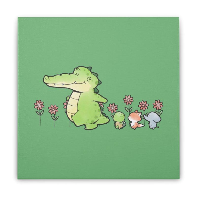Buddy Gator - Follow Home Stretched Canvas by Buddy Gator's Artist Shop
