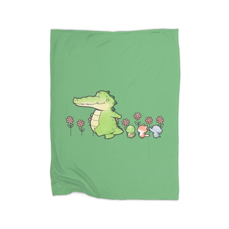 Buddy Gator - Follow Home Blanket by Buddy Gator's Artist Shop