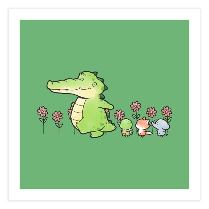Buddy Gator - Follow Home Fine Art Print by Buddy Gator's Artist Shop