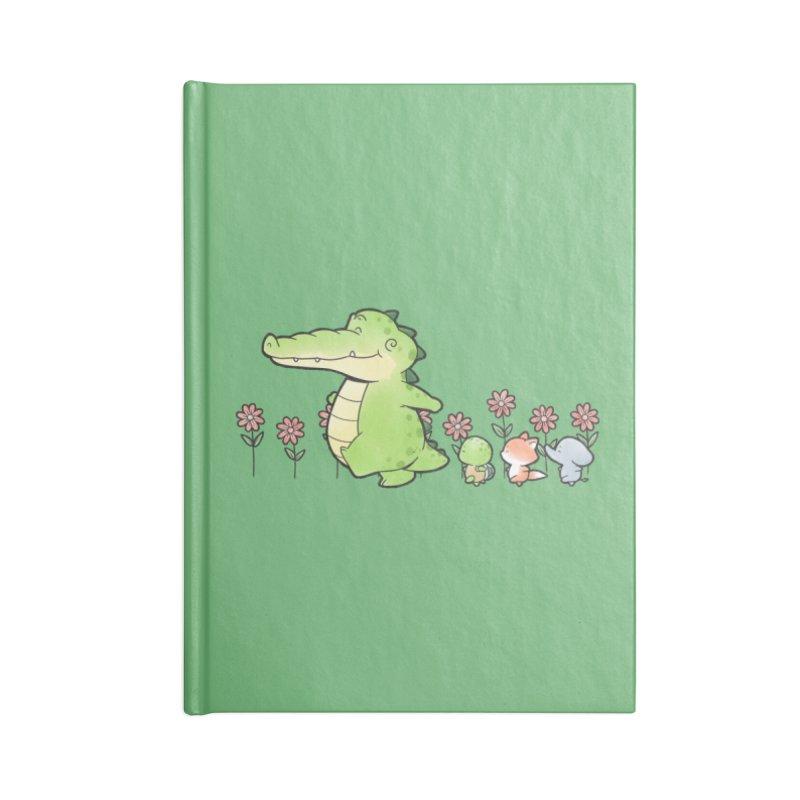 Buddy Gator - Follow Accessories Notebook by Buddy Gator's Artist Shop