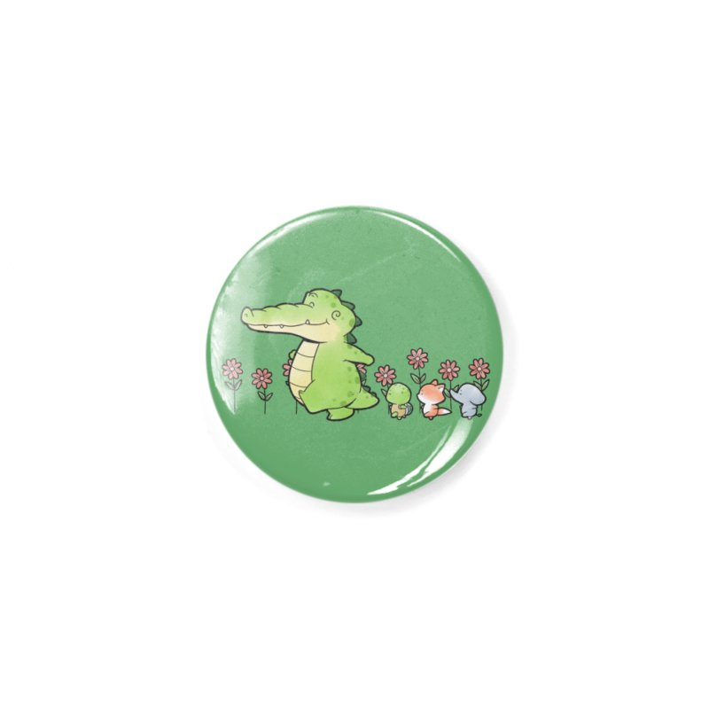 Buddy Gator - Follow Accessories Button by Buddy Gator's Artist Shop