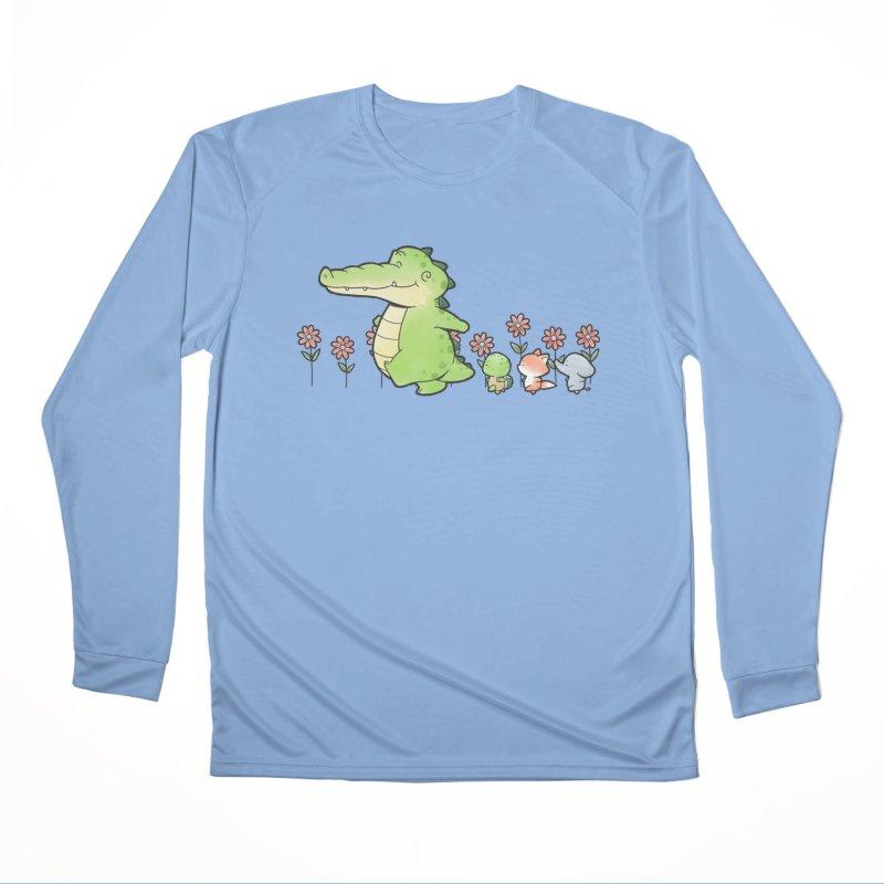 Buddy Gator - Follow Men's Longsleeve T-Shirt by Buddy Gator's Artist Shop