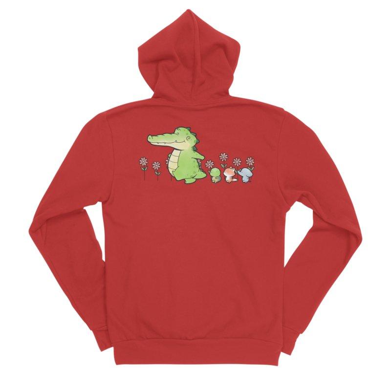 Buddy Gator - Follow Women's Zip-Up Hoody by Buddy Gator's Artist Shop
