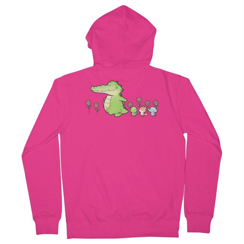 Buddy Gator - Follow Men's Zip-Up Hoody by Buddy Gator's Artist Shop