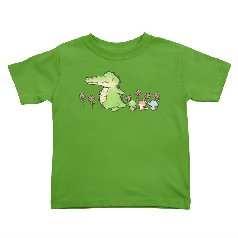 Buddy Gator - Follow Kids Toddler T-Shirt by Buddy Gator's Artist Shop