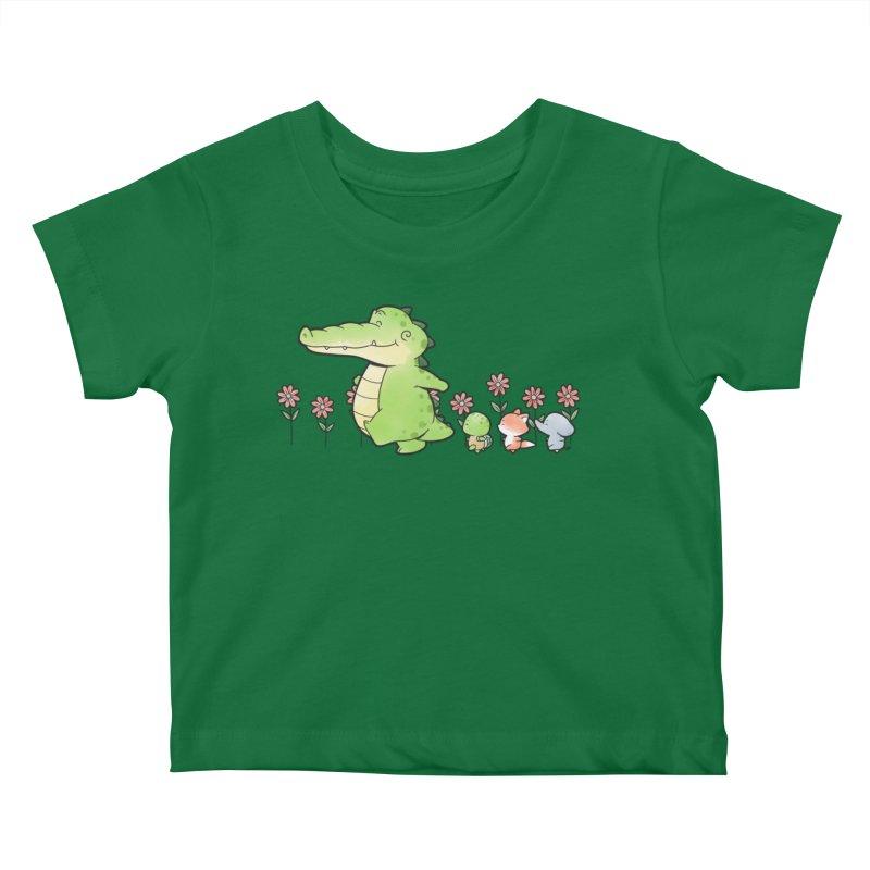 Buddy Gator - Follow Kids Baby T-Shirt by Buddy Gator's Artist Shop