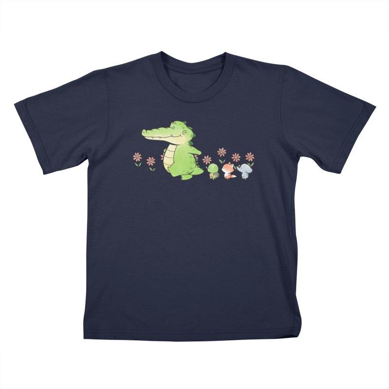 Buddy Gator - Follow Kids T-Shirt by Buddy Gator's Artist Shop