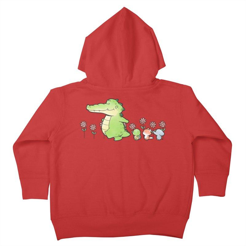 Buddy Gator - Follow Kids Toddler Zip-Up Hoody by Buddy Gator's Artist Shop