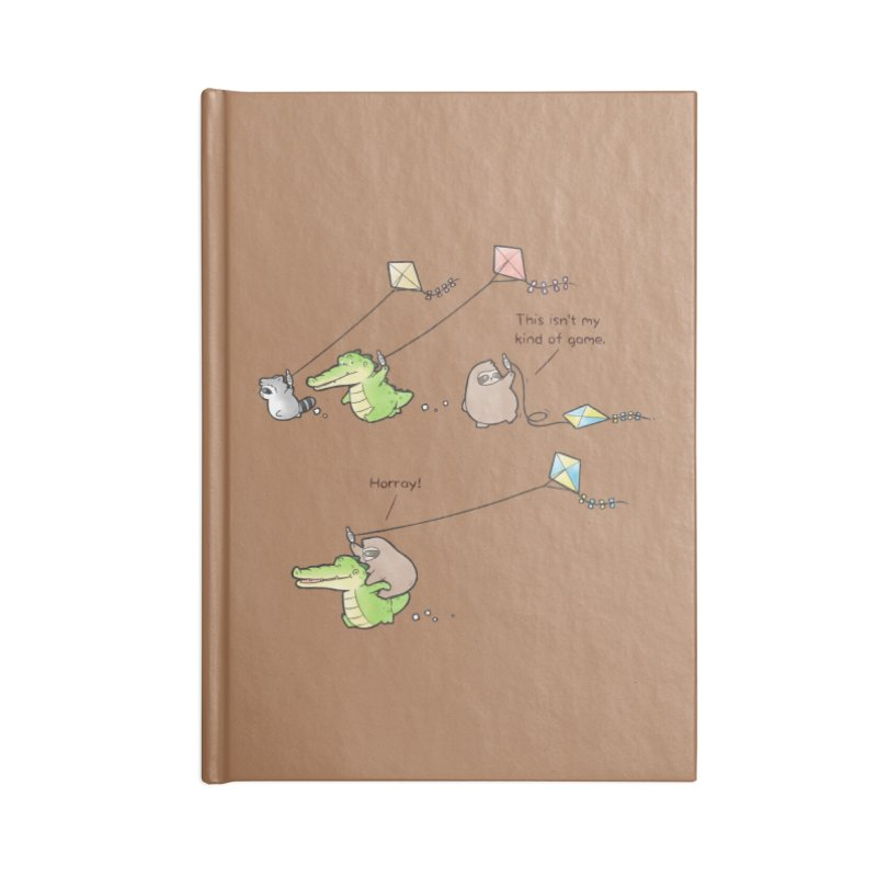 Buddy Gator - Fly A Kite Accessories Notebook by Buddy Gator's Artist Shop