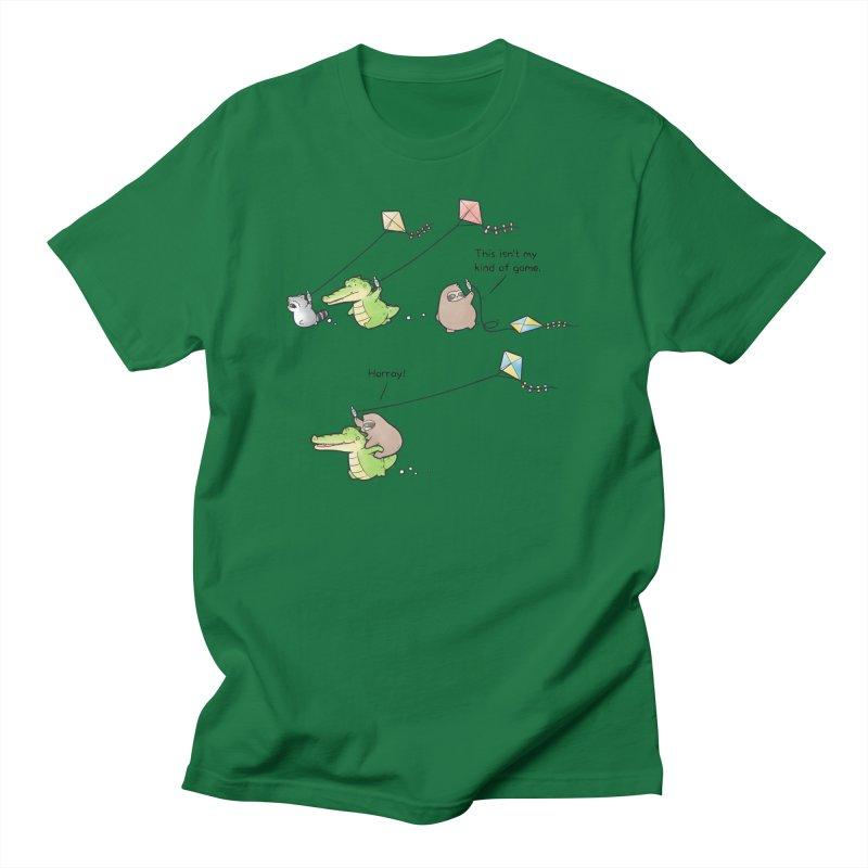 Buddy Gator - Fly A Kite Men's T-Shirt by Buddy Gator's Artist Shop