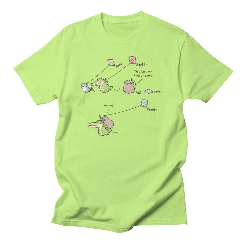 Buddy Gator - Fly A Kite Women's T-Shirt by Buddy Gator's Artist Shop