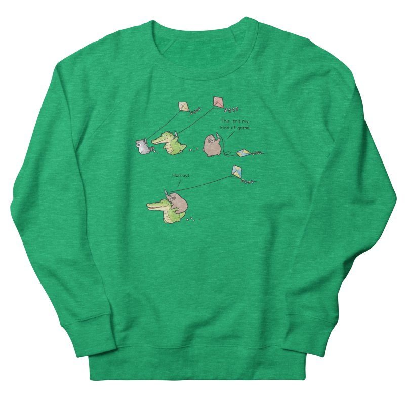 Buddy Gator - Fly A Kite Women's Sweatshirt by Buddy Gator's Artist Shop
