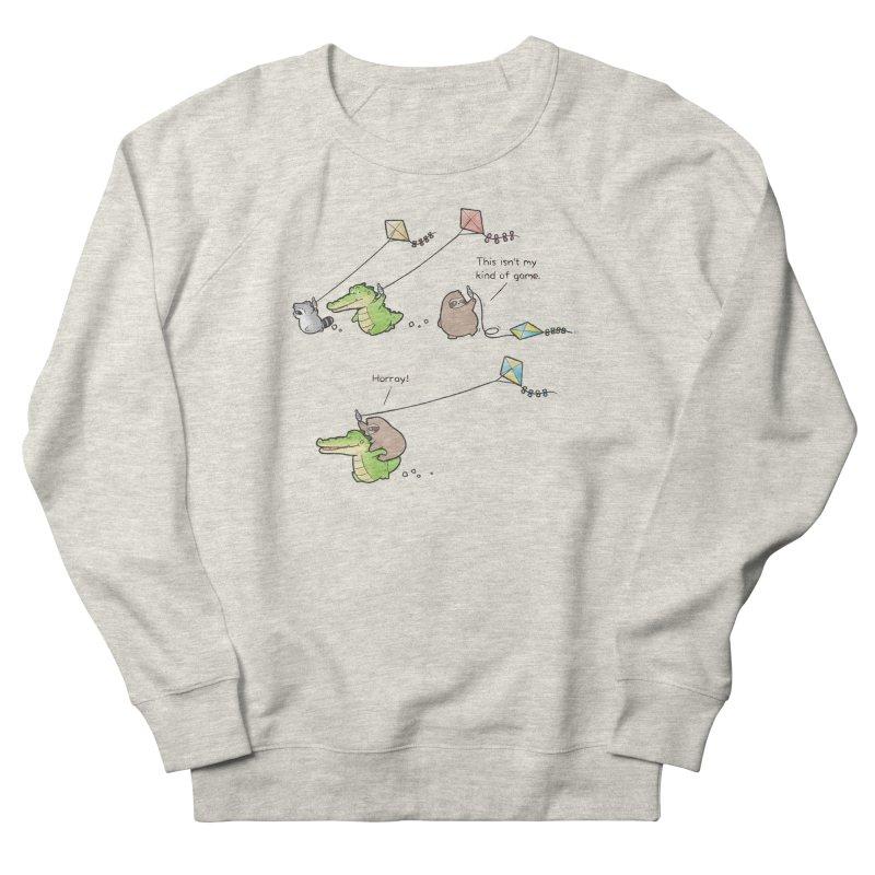 Buddy Gator - Fly A Kite Men's Sweatshirt by Buddy Gator's Artist Shop