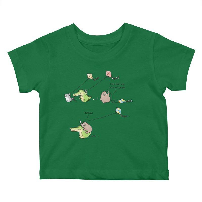 Buddy Gator - Fly A Kite Kids Baby T-Shirt by Buddy Gator's Artist Shop