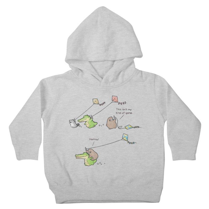 Buddy Gator - Fly A Kite Kids Toddler Pullover Hoody by Buddy Gator's Artist Shop