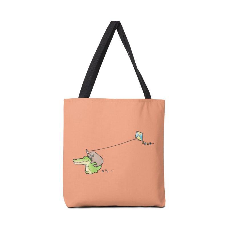 Buddy Gator, Sloth - Fly A Kite Accessories Bag by Buddy Gator's Artist Shop