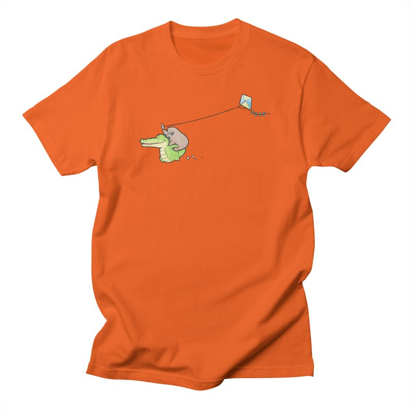 Buddy Gator, Sloth - Fly A Kite Women's T-Shirt by Buddy Gator's Artist Shop