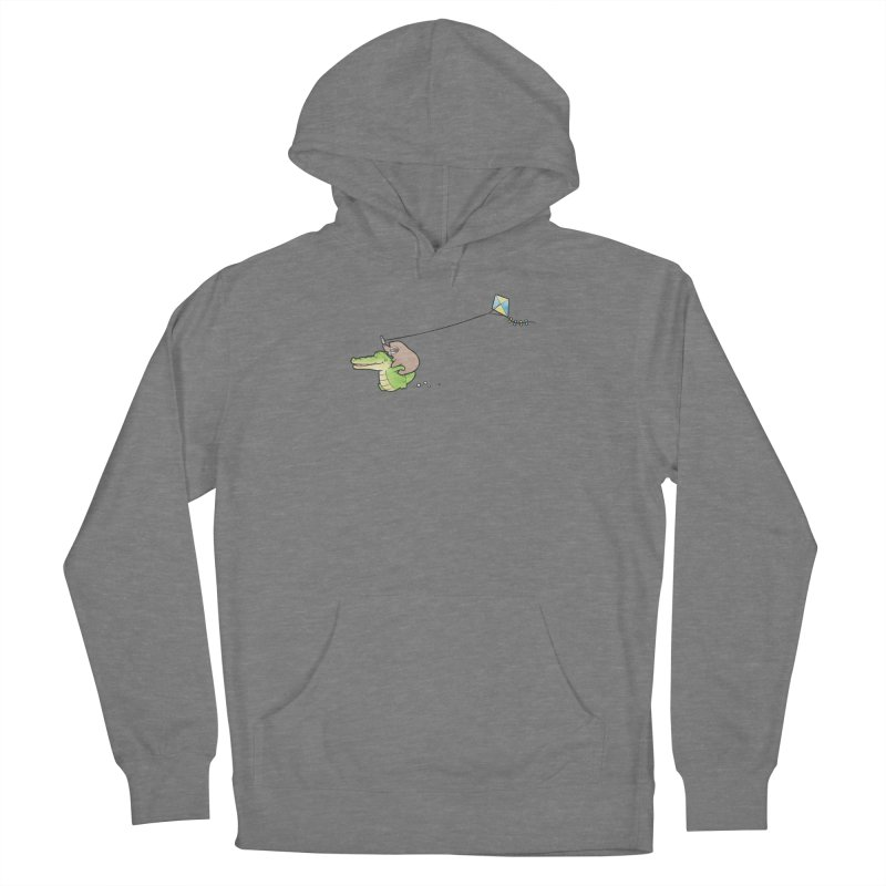 Buddy Gator, Sloth - Fly A Kite Women's Pullover Hoody by Buddy Gator's Artist Shop