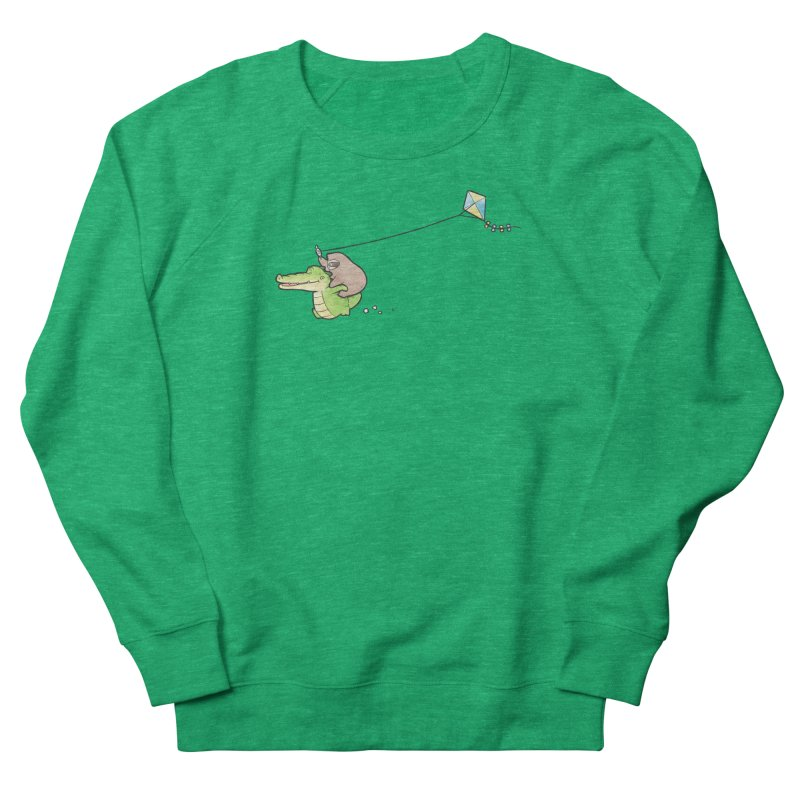 Buddy Gator, Sloth - Fly A Kite Women's Sweatshirt by Buddy Gator's Artist Shop
