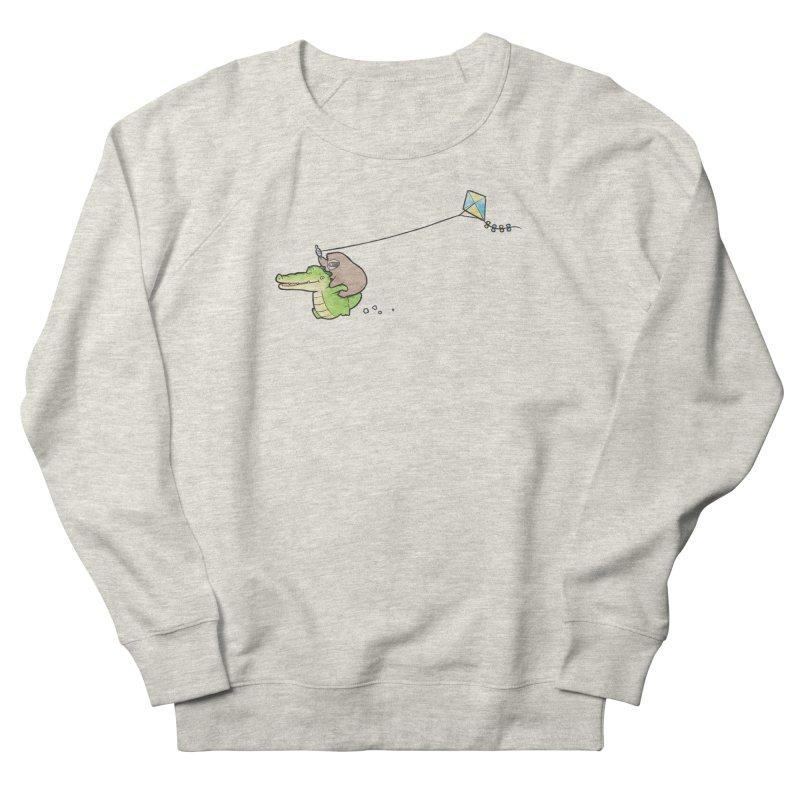 Buddy Gator, Sloth - Fly A Kite Men's Sweatshirt by Buddy Gator's Artist Shop