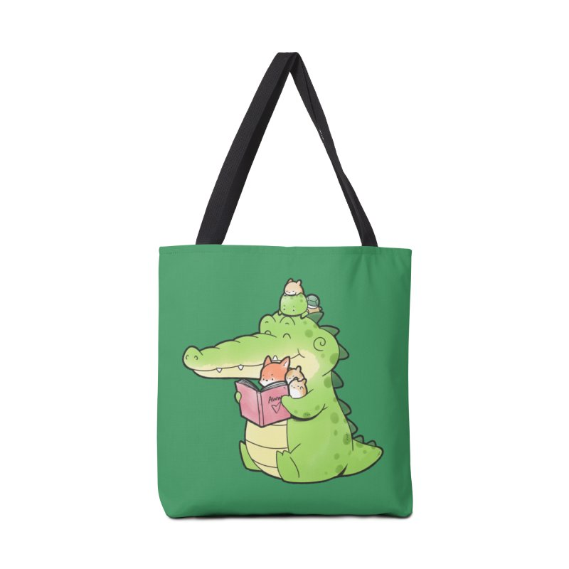 Buddy Gator - Reading Time Accessories Bag by Buddy Gator's Artist Shop