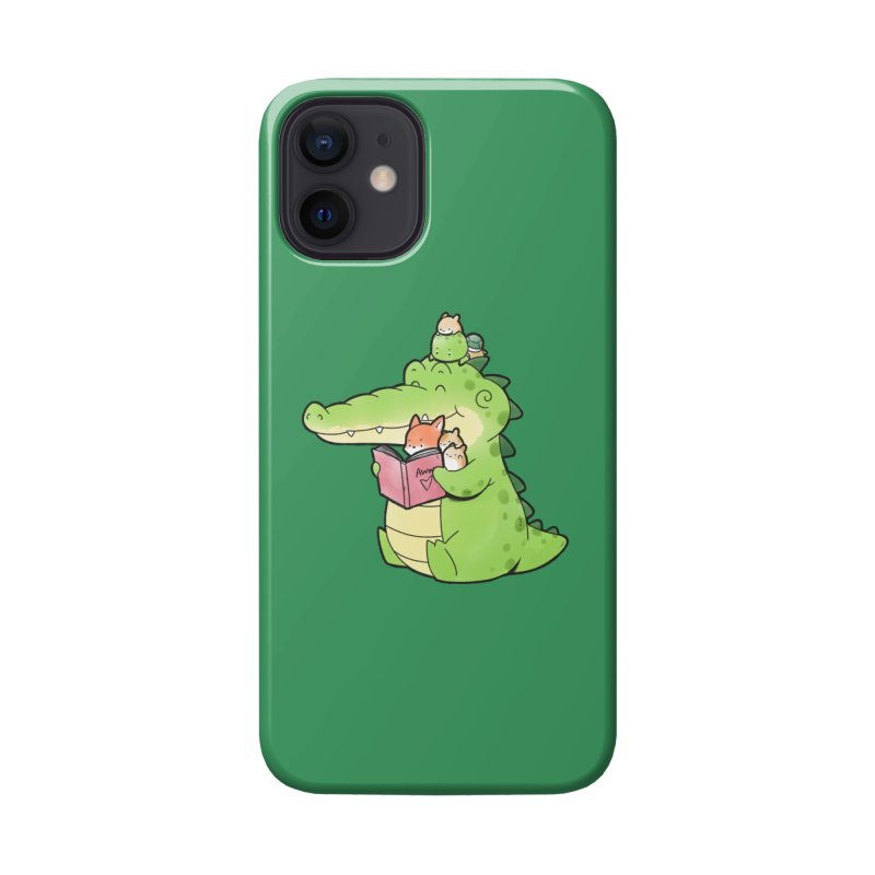 Buddy Gator - Reading Time Accessories Phone Case by Buddy Gator's Artist Shop
