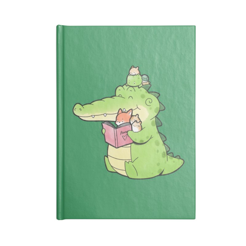 Buddy Gator - Reading Time Accessories Notebook by Buddy Gator's Artist Shop