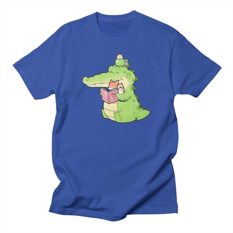 Buddy Gator - Reading Time Women's T-Shirt by Buddy Gator's Artist Shop