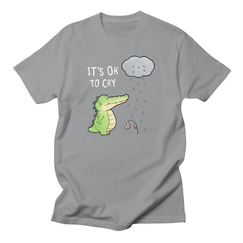 Buddy Gator - It's Ok To Cry, Cloud Men's T-Shirt by Buddy Gator's Artist Shop