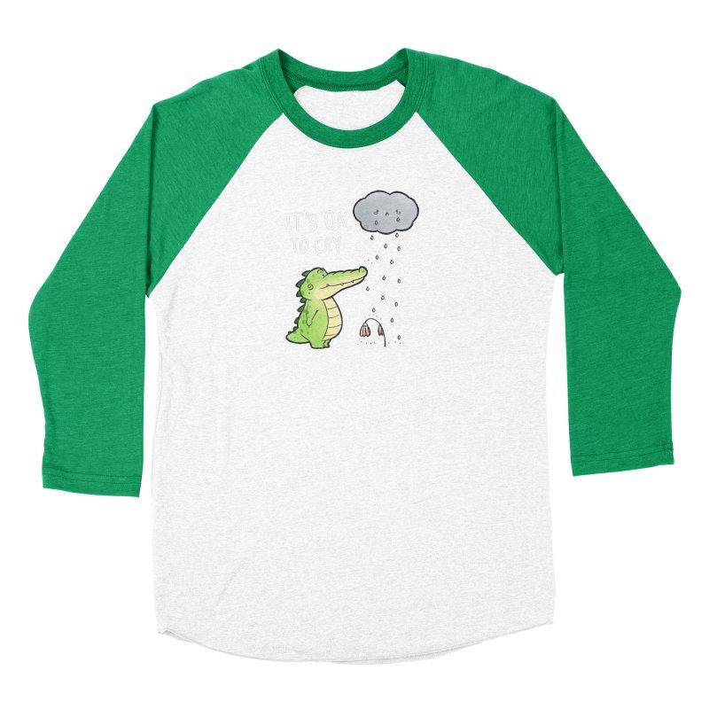 Buddy Gator - It's Ok To Cry, Cloud Women's Longsleeve T-Shirt by Buddy Gator's Artist Shop