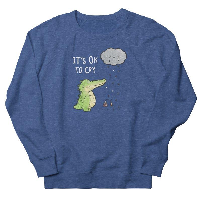 Buddy Gator - It's Ok To Cry, Cloud Men's Sweatshirt by Buddy Gator's Artist Shop