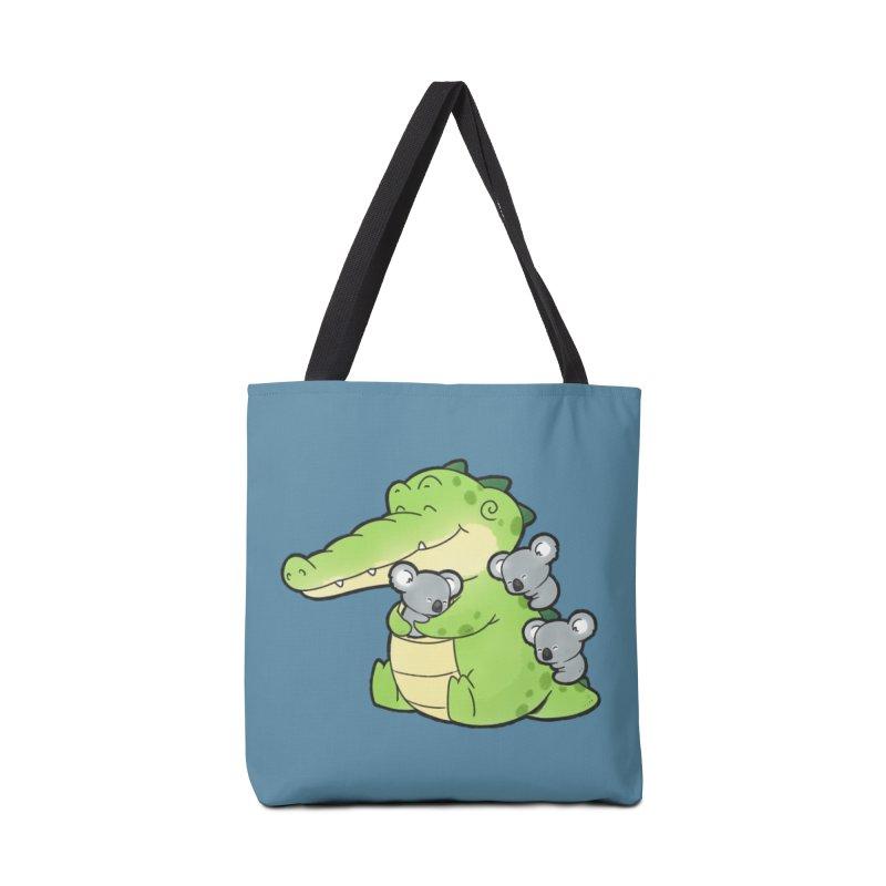 Buddy Gator - Hugs Accessories Bag by Buddy Gator's Artist Shop