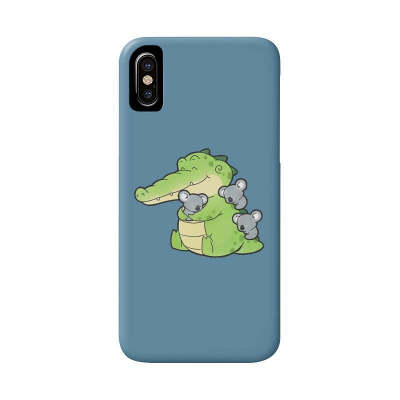 Buddy Gator - Hugs Accessories Phone Case by Buddy Gator's Artist Shop