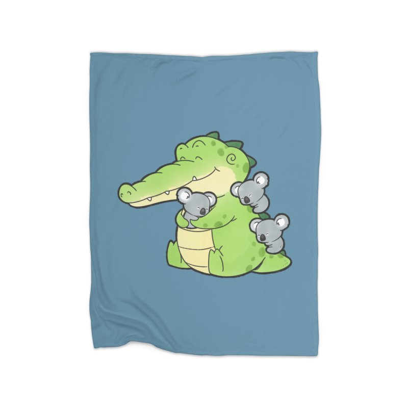 Buddy Gator - Hugs Home Blanket by Buddy Gator's Artist Shop