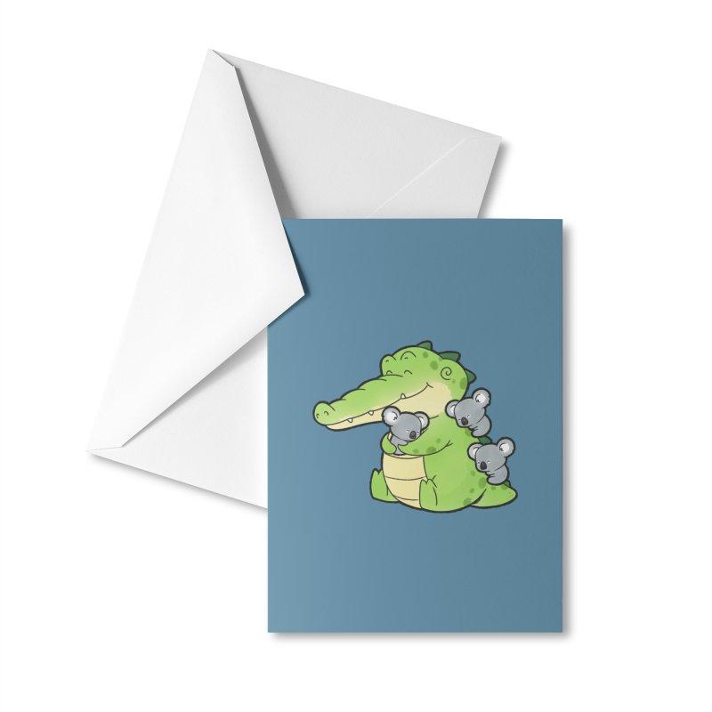 Buddy Gator - Hugs Accessories Greeting Card by Buddy Gator's Artist Shop