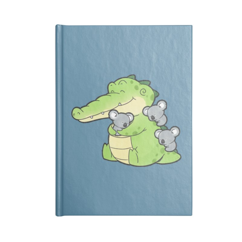 Buddy Gator - Hugs Accessories Notebook by Buddy Gator's Artist Shop